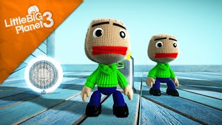 LittleBigPlanet 3 - Baldi costume from Baldi's basics in education and learning