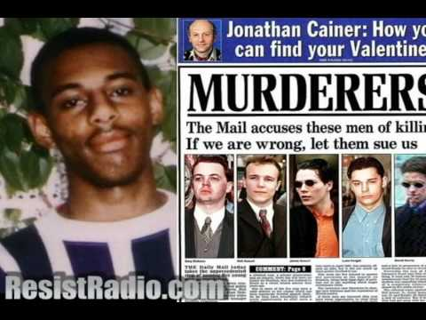 ResistRadio.com: Could Stephen Lawrence's Convicted Killers Be Innocent?