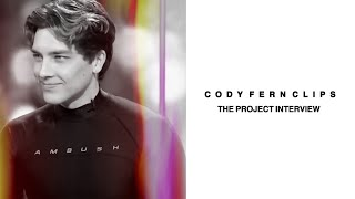 Cody Fern clips | The Project interview
