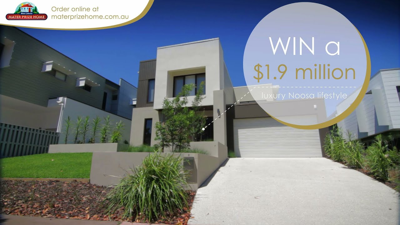 Win the Mater Prize Home Lottery No