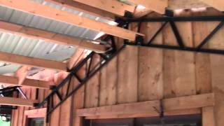 "Pole Barn Kits ""steel Trusses"" And Carports"