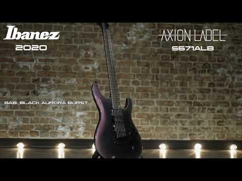 Ibanez 2020 S67ALB Axion Label Demo