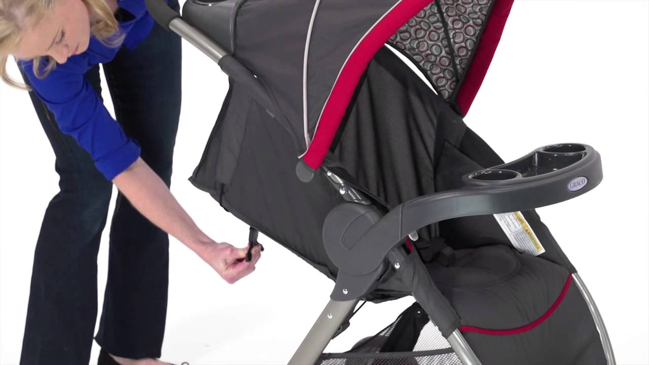 Graco Fastaction Fold Click Connect Travel System 1843903