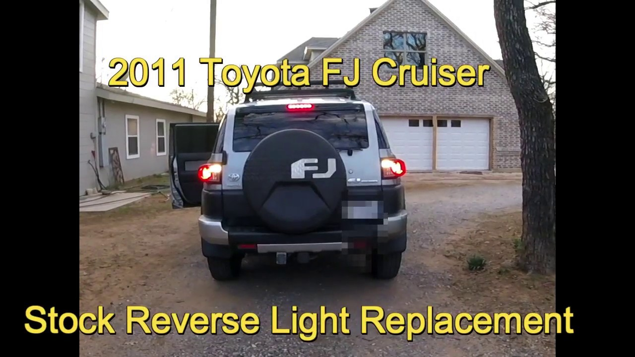 Toyota Fj Cruiser Led Reverse Lights Install Youtube Backup Wiring Diagram For