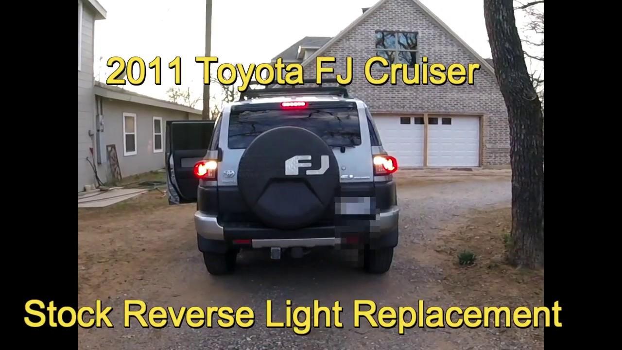 medium resolution of toyota fj cruiser led reverse lights install