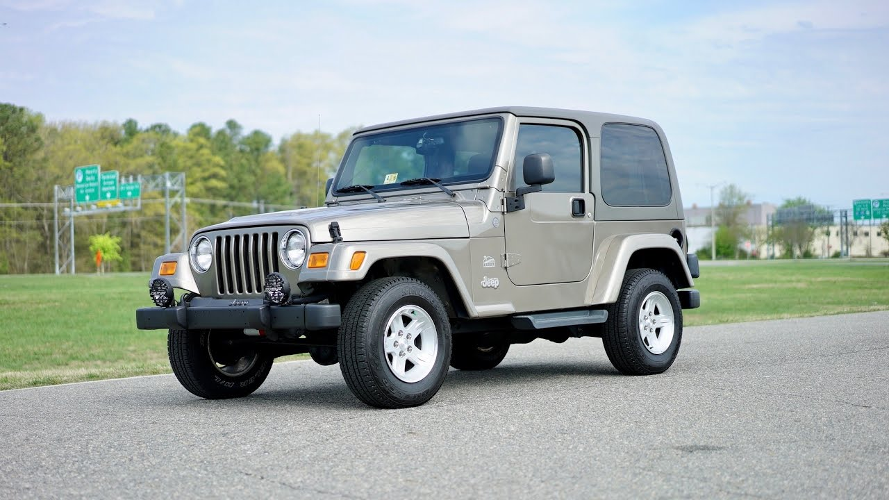 Marvelous Davis AutoSports 2004 Jeep Wrangler Sahara For Sale / Low Miles / Part 1