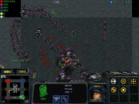 Starcraft: Marine Defense 10 Way