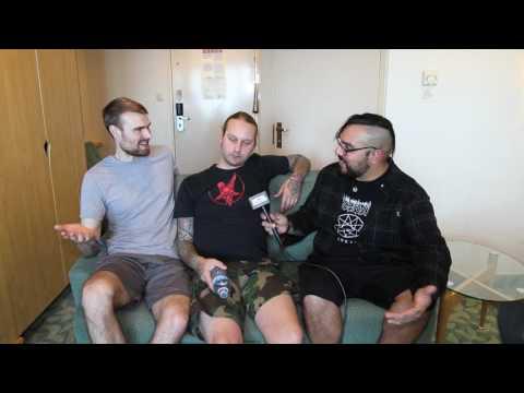 MORS PRINCIPIUM EST Interview At 70,000 Tons Of Metal | Metal Injection