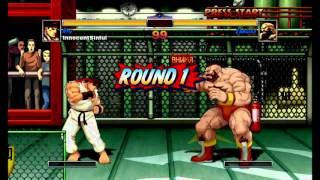 Super Street Fighter II Turbo HD Remix (Xbox Live Arcade) Arcade as Ryu