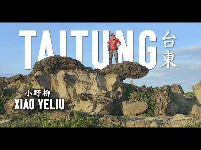 Amazing XIAO YELIU Scenic Area in Taitung (台東小野柳風景區)