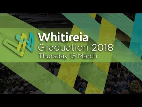 Whitireia Graduation 2018