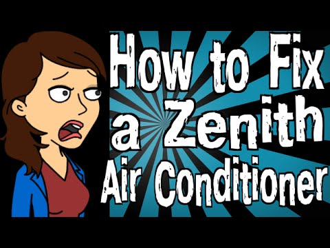 How to Fix a Zenith Air Conditioner - YouTube Zw R Zenith Air Conditioner Wiring Schematic on
