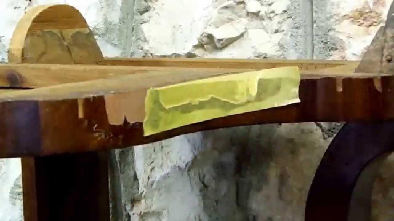 Restauraci n de muebles reparaci n de chapados youtube - Restaurar muebles chapados ...