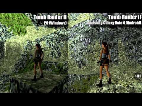 Tomb Raider Ii Mobile Android Vs Pc Comparison Youtube