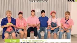Video [SUB ESPAÑOL] GOT7 Jackson Wang saluda a ASTRO download MP3, 3GP, MP4, WEBM, AVI, FLV November 2017