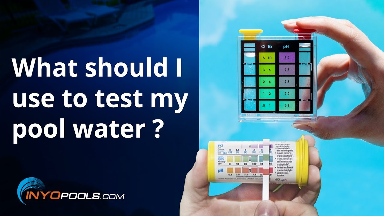 how to test pool water video