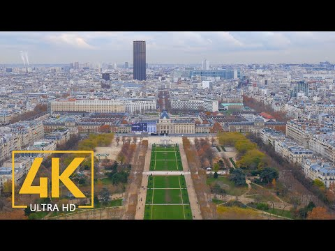 4K Paris, France - Top Tourist Attractions In Paris - Travel Journal