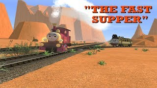 """Looney On Rails: Lady and Diesel 10 in """"The Fast Supper"""""""
