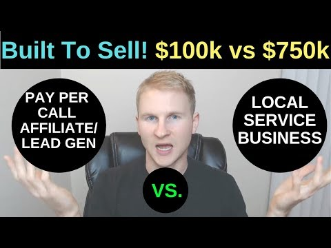Pay Per Call Affiliate/Lead Gen SEO Website vs Offline Business (BUILT TO SELL!)
