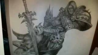 Lich King Drawing