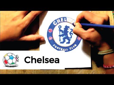 Dibujo del logo del chelsea fc youtube dibujo del logo del chelsea fc voltagebd Gallery