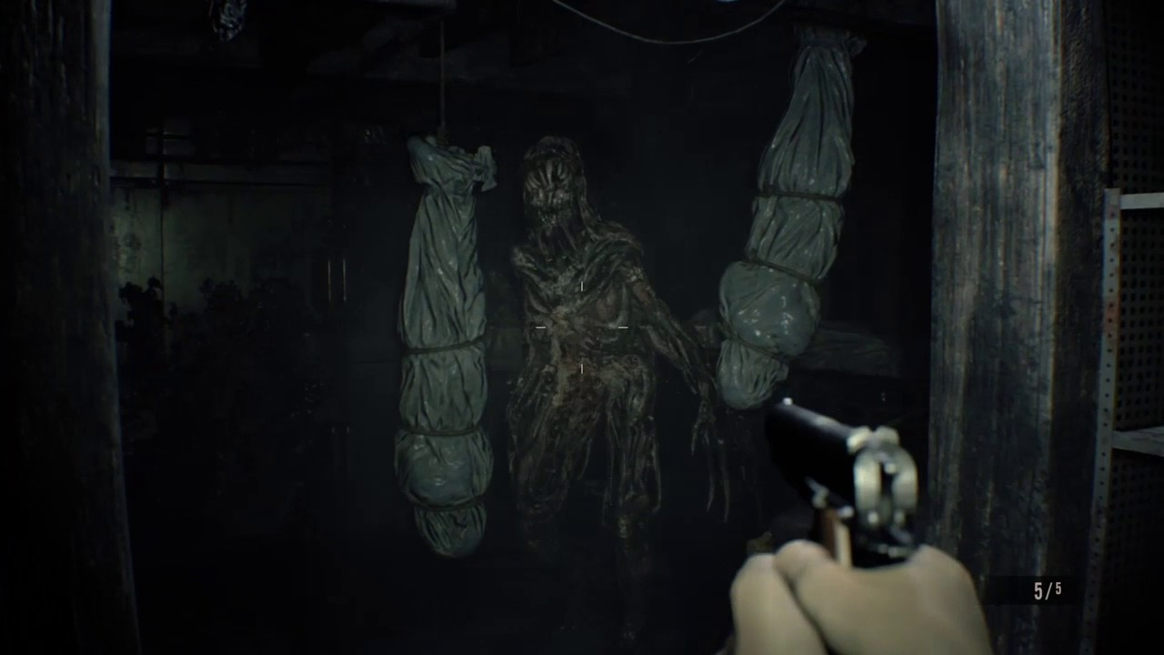 resident evil 7 mold monsters