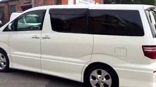 Toyota Alphard 2.4 Auto 8 seat MPV/Day Van with nice miles in fantastic condition throughout