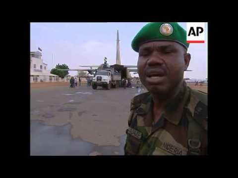 Nigerian troops arrive in Sudan