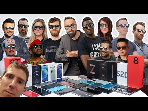 Which SMARTPHONES Do We Use? YOUTUBER Edition ft. MKBHD, Linus Tech Tips, Austin Evans + More