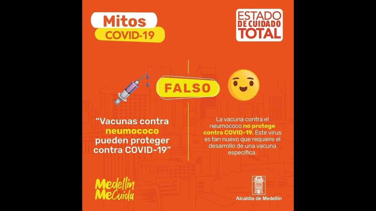 Mitos y verdades sobre la COVID-19 en Colombia.