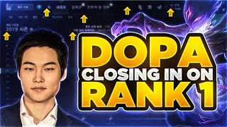 *DOPA IS GRINDING FOR 1500LP* AND RANK 1 KOREA... CAN HE DO IT??