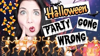 Halloween Party GONE WRONG!