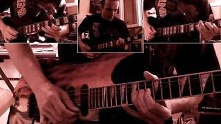 Iron Maiden - The Red And The Black guitar cover with tabs !