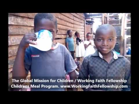 GMFC/WFF Childrens Meal Program Kibera Slum Kenya