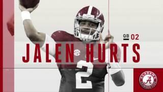 2016 #16 Auburn vs. #1 Alabama (HD)