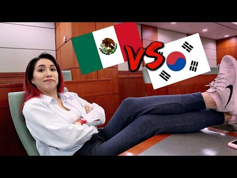 (eng)STUDYING IN AMERICA VS STUDYING IN KOREA! where is better?