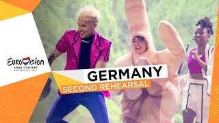 Jendrik - I Don't Feel Hate - Second Rehearsal - Germany 🇩🇪 - Eurovision 2021