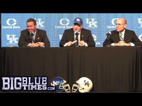UK Football Coach Mark Stoops Introduction Press Conference