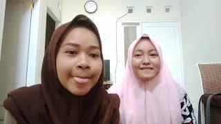 Cara mengisi liburan kuliah ~Cover lagu Banyu Langit - Karaoke  Yulia N. &Tania