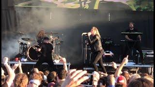 "Underoath - ""On My Teeth"" (Live) Riot Fest Chicago, IL 9/16/2018"