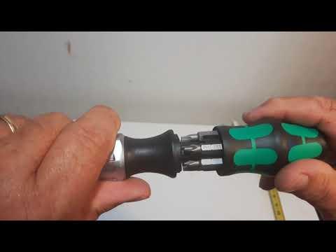 Wera Kompakt 27 RA Ratchet Screwdriver 7pc