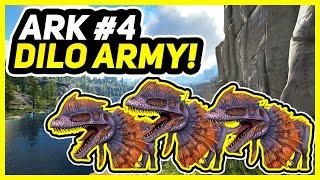 Let's Play ARK Survival Evolved Valguero! Episode 4