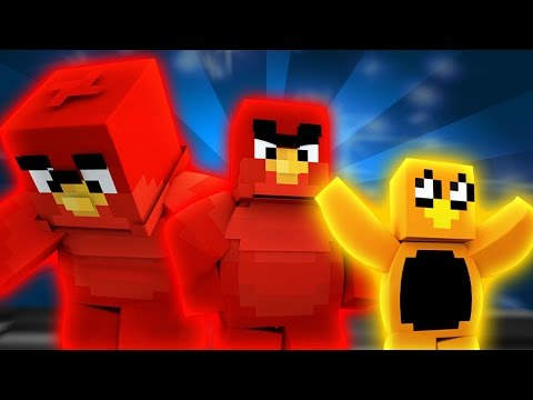 """Angry Birds Island - """"RED BIRD'S QUEST"""" (Minecraft Roleplay) Day 1"""