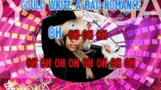 Lady Gaga - Bad Romance karaoke
