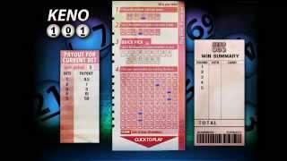 New Keno 101 at WinADay Casino