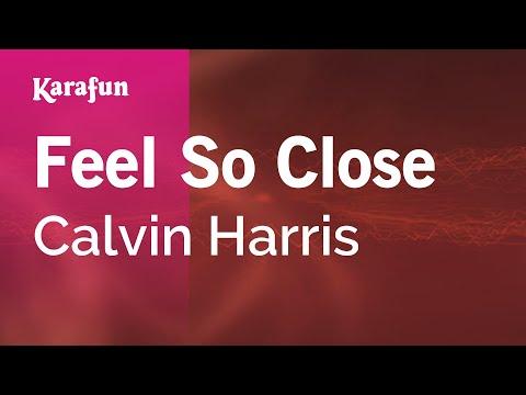 Feel So Close - Calvin Harris (Karaoke)