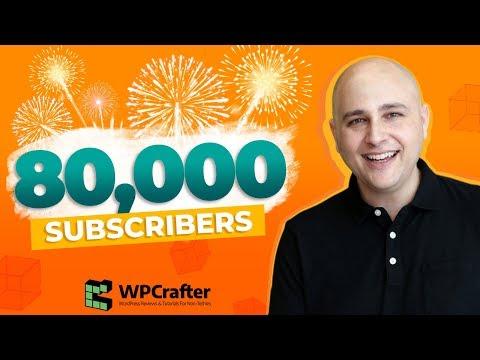 80K Subscribers