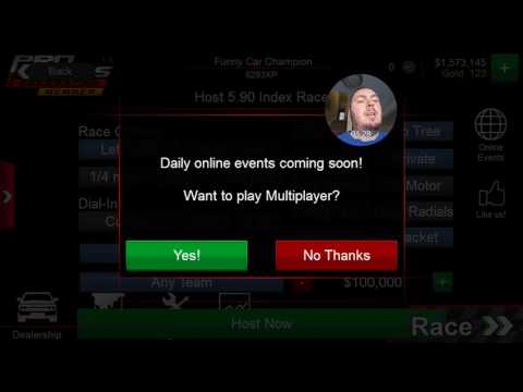 2-5-17 - Pro Series Drag Racing - Tune & Win Millions (How To)