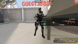 """Test de jeu """"Crime revolt-jeu de tir en ligne"""