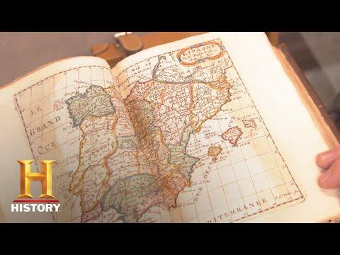 Pawn Stars: An 18th Century Atlas Seas 14  History